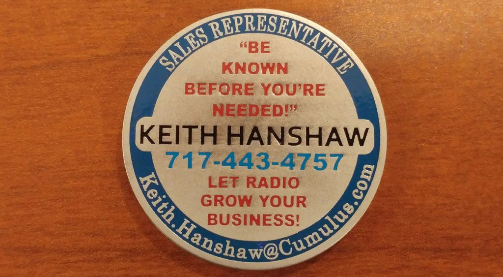 Keith Hanshaw, Media Consultant