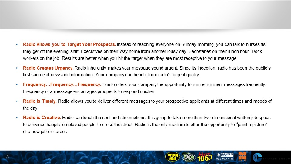 How To Recruit Employees With Radio