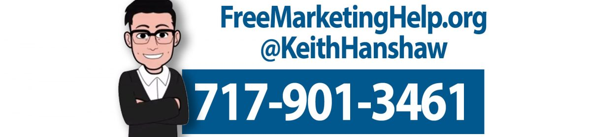 Free Marketing Help @KeithHanshaw