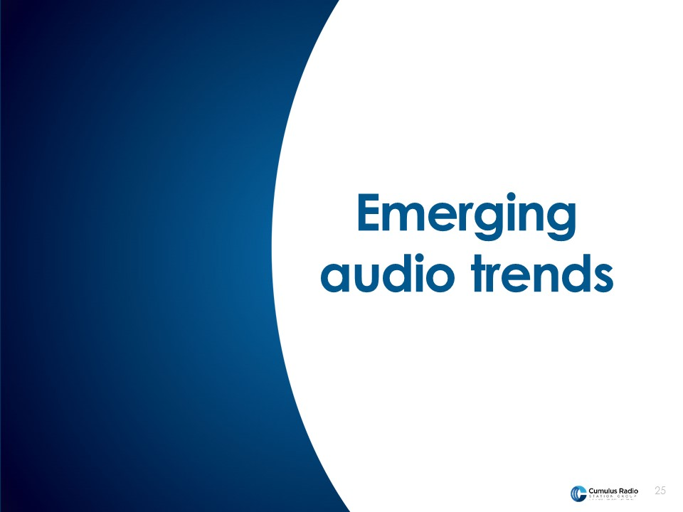 audio trends