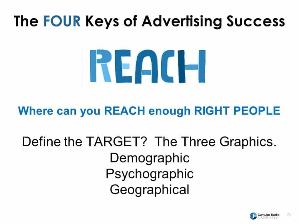 Reach people